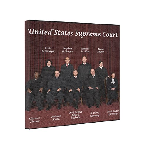 - Butter Tisse Gallery Wrapped Canvas United States Supreme Court Justices Photo Canvas Print
