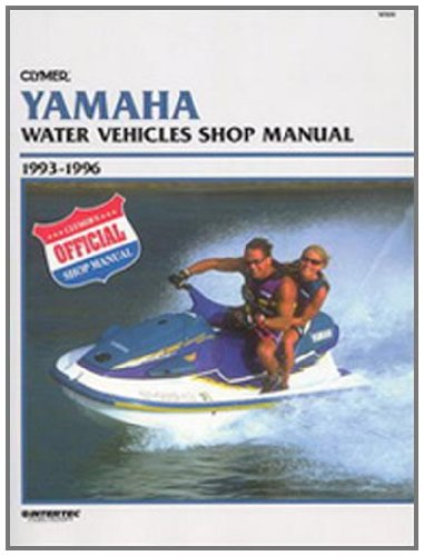 amazon com clymer yamaha 93 6 personal watercraft manual sports rh amazon com
