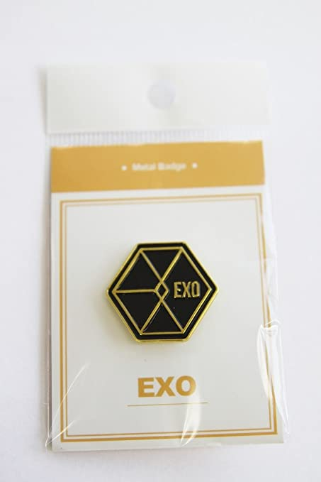 Amazon com : K Pop Star Goods Logo Badge BTS, TWICE, EXO, MONTA X