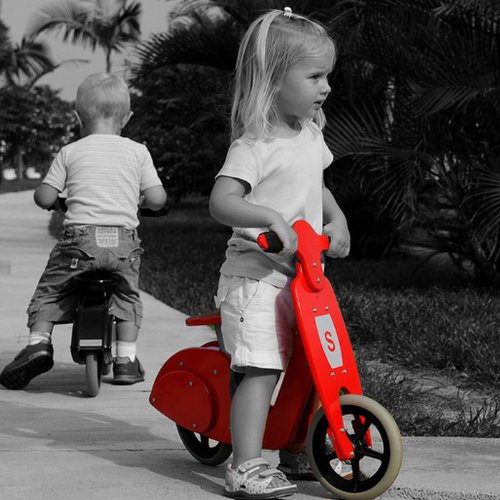Skipper Balance Scooter Red Toys Games