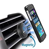 Car Mount, WizGear Universal Air Vent Magnetic Car Mount Holder, for Cell Phones and Mini Tablets with Fast Swift-Snap Technology, Magnetic Cell Phone Mount, Car Mount for iPhone 6,