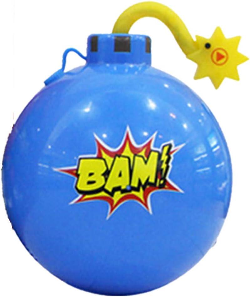 Bomba de agua difícil spray de la mesa partido adecuado para los niños partido de broma de juguete Guerrero sonido luz agua spray de la mina de cartón sólido juego ordenado de