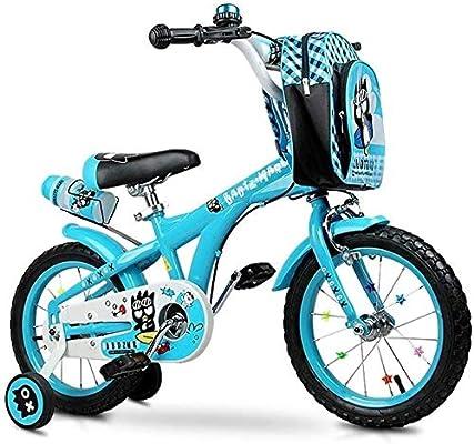 Bicicleta JYetzxc Bicicletas pedal de la bicicleta azul de niños ...