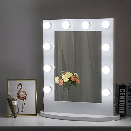 Chende Hollywood Makeup Vanity Mirror With Light Tabletops