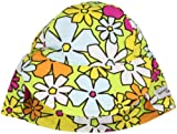 Flap Happy Unisex Baby Upf 50 Plus Original Flap Hat, Hana Lei Floral, X Large