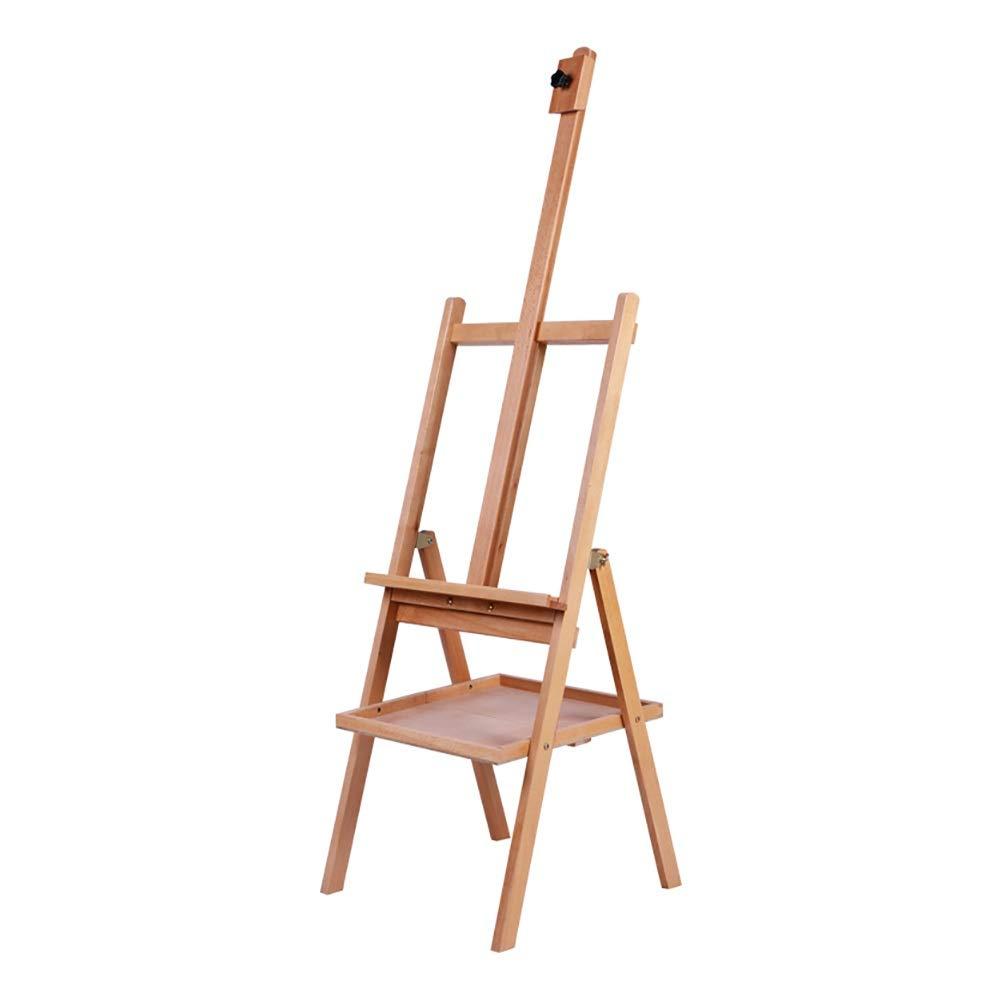 調節可能な地位の木製のイーゼル、学生/大人のための良質の携帯用折り畳み式のスケッチの油絵 (色 : Easel)  Easel B07RB35DG3