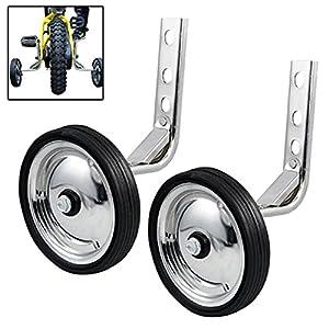 Anfan 12/14/16/18/20 Inch Bicycle Training Wheels, Adjustable Universal Kids Bike Stabiliser (US STOCK)