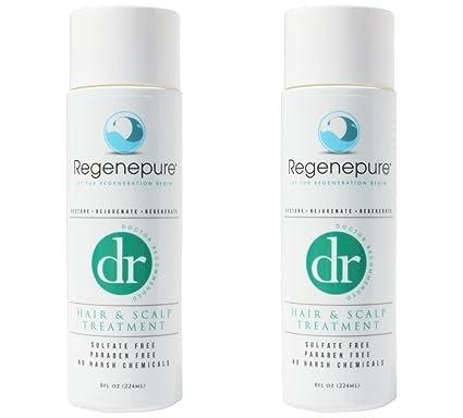REGENEPURE DR Champú regenerador para pérdida de cabello y anti DHT, para hombres y mujeres