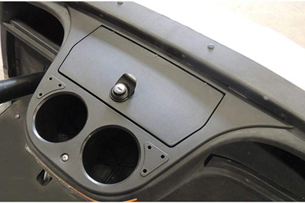 Performance Plus Carts Yamaha Drive Golf Cart Black Dash Compartment