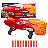 first nerf gun - Nerf Thunderhawk AccuStrike Mega Toy Blaster - Longest Blaster - 10 Official AccuStrike Mega Darts, 10-Dart Clip, Bipod - for Kids, Teens, and Adults