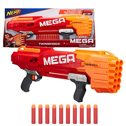 NERF N-Strike Mega TwinShock (Mega Nerf Blaster)