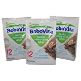 Bobovita Instant Milk and Rice Cereal with Cocoa Flavor (Pack of 3)