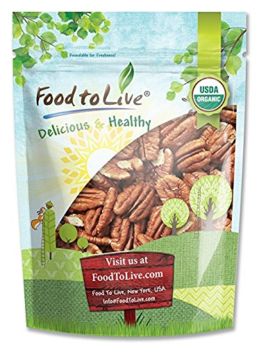 Food to Live Organic Pecans (Raw, No Shell, Kosher) (3 Pounds) by Food to Live  (Image #12)