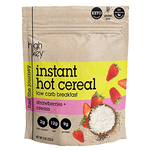 Strawberry Instant Hot Cereal - Instant Oatmeal Hot Cereal