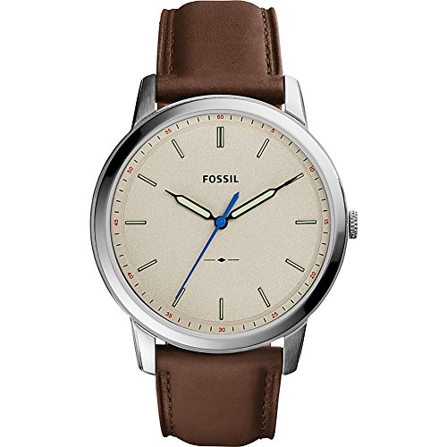 Fossil The Minimalist Slim Three-Hand Leather Watch