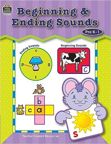 Amazon.com: Beginning & Ending Sounds (9780743933919): Krista ...