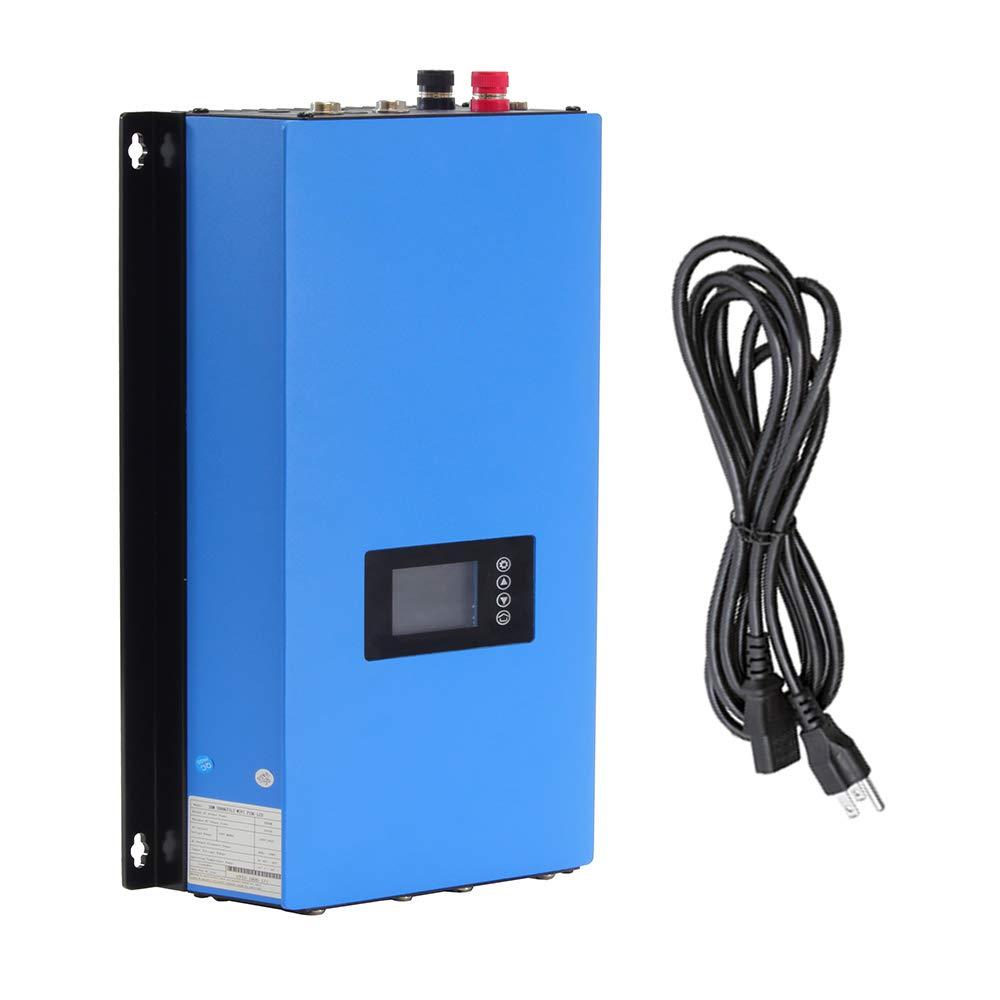 iMeshbean® LCD 1000W Solar Gird Tie Inverter MPPT Pure Sine Wave DC 22V-60V TO AC 110V/120V USA