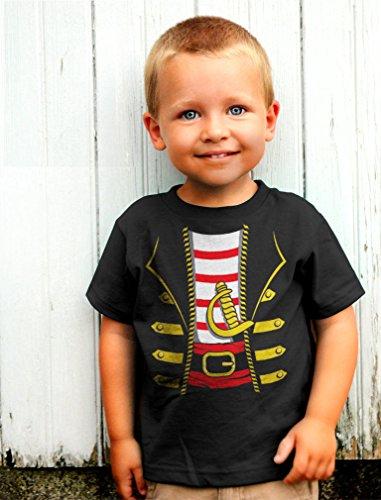 e1672d35 Tstars Halloween Pirate Buccaneer Costume Outfit Suit Cute Toddler/Infant  Kids T-Shirt