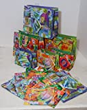 16 gift bags Small and extra small vogue sizes, modern art designs tags included