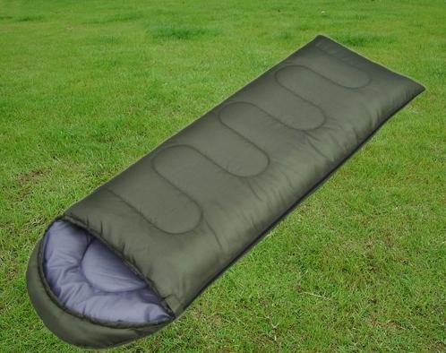 E2E Warm-Weather Sleeping Bag with hat, Outdoor Stuffs