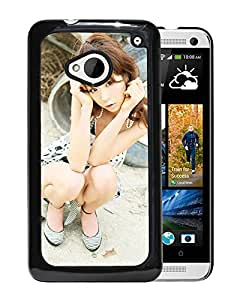 Beautiful Girl Cover Case For HTC ONE M7 With Aki Hoshino Girl Mobile Wallpaper(1) Phone Case