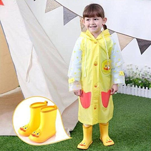 790531072d720 Outsta Infant Kids Rain Shoes,Children Baby Cartoon Duck Rubber Waterproof  Warm Boots Rain Shoes 2018 New, Perfectly with The Creative Kids' Cute ...