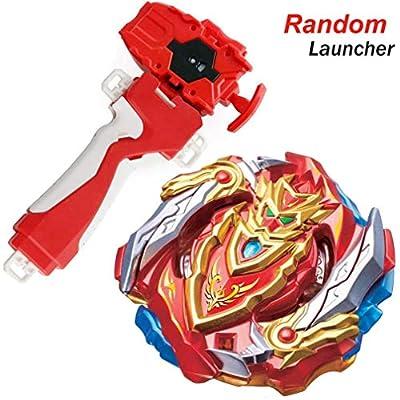 Dwin Bey Battle Evolution Blade Turbo Random Red String Launcher Grip God Bay B-129 Booster Cho-Z Achilles.00.Dm Starter Set Games &Accessories Bey Burst Gaming Top Battling Spinning Top Boy's Gifts: Toys & Games