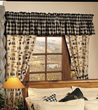 - True Grit Northern Exposure Cotton/Polyester Drape Panel Pair