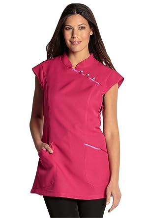DYNEKE - Bata de laboratorio Rosa rosa talla única: Amazon.es: Ropa y accesorios