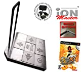 Dance Dance Revolution iON Master Arcade Metal Dance Pad with Raised Buttons and Strong Handle Bar f