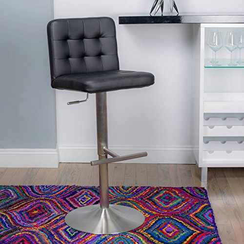 In the Mix MIX AS-DEXTER-BLK Bar Stool, ()