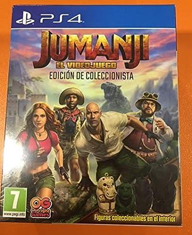 Jumanji El videojuego Edición de Coleccionista: Amazon.es: Videojuegos