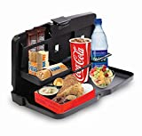 Black Car Food Snack Tray - Zone Tech Drink Meal Tray For Car
