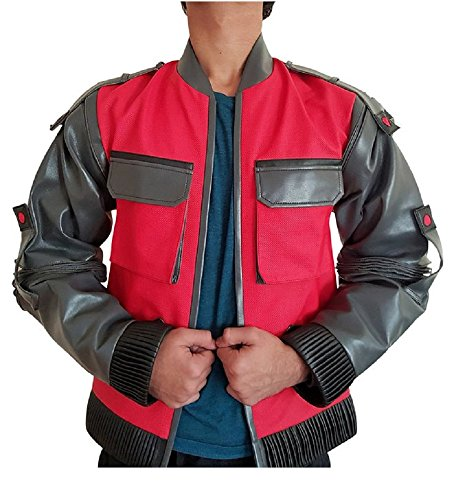 [Back to the Future 2 Jacket / Marty McFly 2015 costume (XL)] (Marty Mcfly Costumes)
