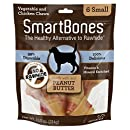 SmartBones Peanut Butter Dog Chew, Small, 6 pieces/pack