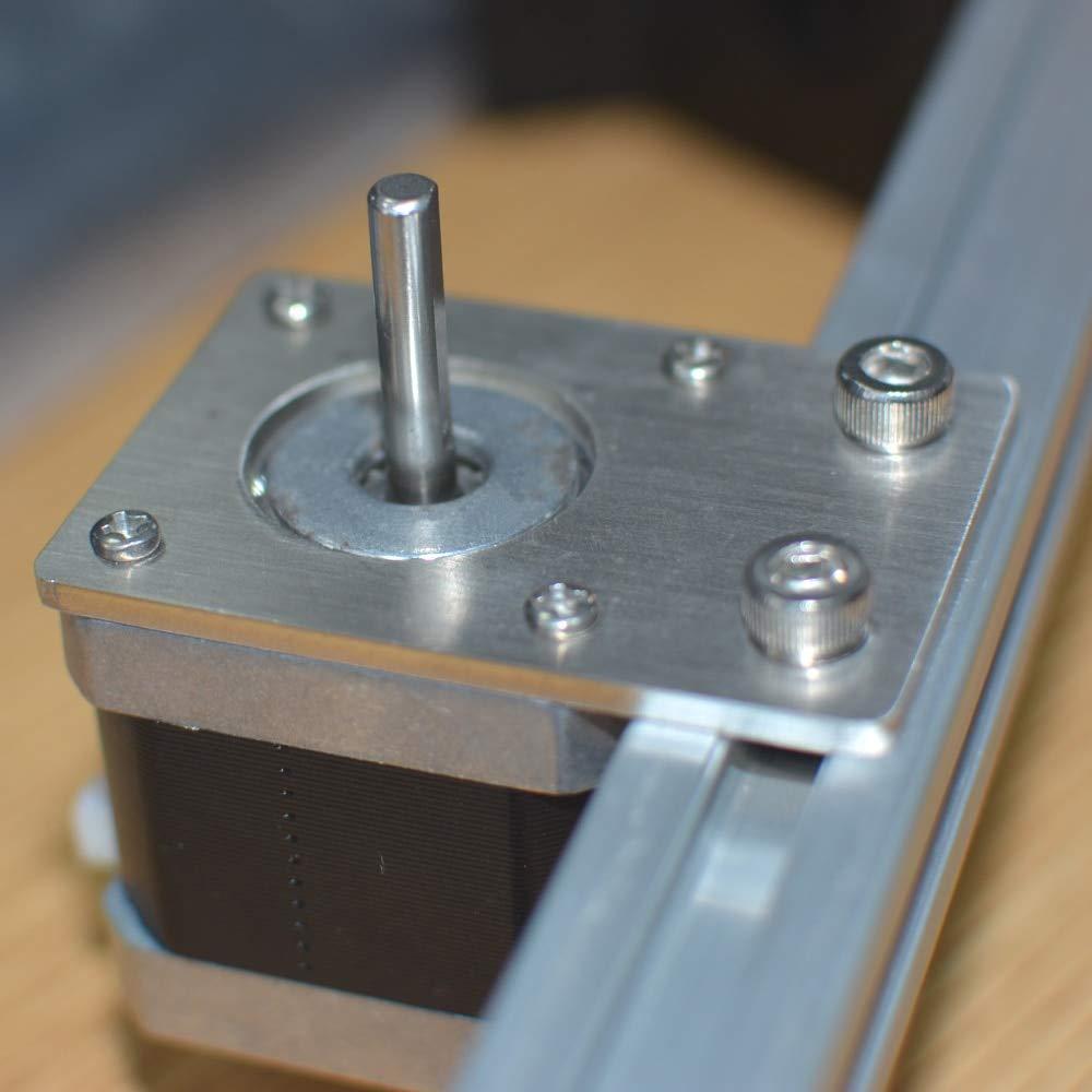 HEASEN NEMA 17 - Soporte para placa de montaje de motor paso a ...