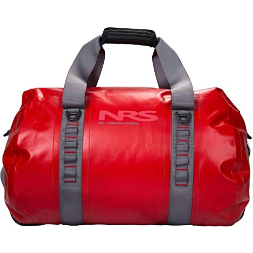 NRS High Roll Duffel Dry Bag, Red 105L