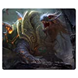 26x21cm 10x8inch mousemats cloth + rubber Natural durable materials Dragon's Dogma