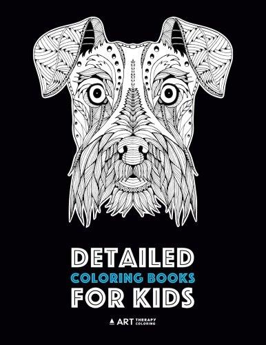 Detailed Coloring Books For Kids: Zendoodle Animal Designs; Lion, Tiger, Elephant, Giraffe, Deer, Fox, Dog, Horse, Unicorn, Birds, Butterflies & More; ... Pages For Older Kids; Anti-Stress Designs