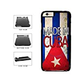 wood iphone 6 case made in usa - BleuReign(TM) Made In Cuba Plastic Phone Case Back Cover For Apple iPhone 6 6s (4.7 Inches Screen)