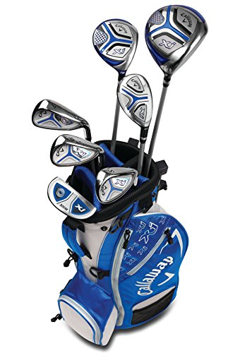 Callaway Golf Xj Junior Golf Set, Level 3, 7 Piece Set, Right Hand, Blue (Golf Club Set Callaway)