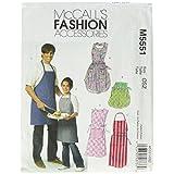 McCall's Patterns M5551 Misses'/ Men's/Children's/Boys'/ Girls' Aprons