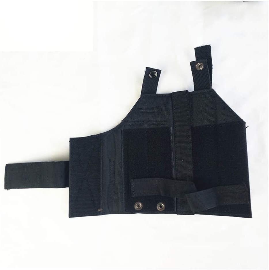 Vioaplem Cinturón De Nylon Táctica De Molle Pistolera For Glock 17 M9 USP 1911 Militar Airsoft Caza Monte Luz De Disparo Universal Pistoleras