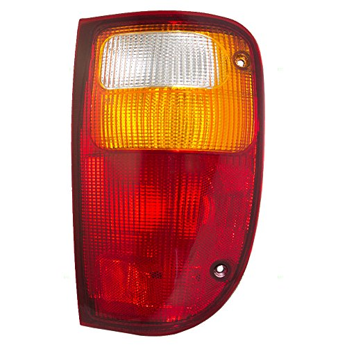 Passengers Taillight Tail Lamp Replacement for Mazda Ford Pickup Truck 1L5Z13404CA