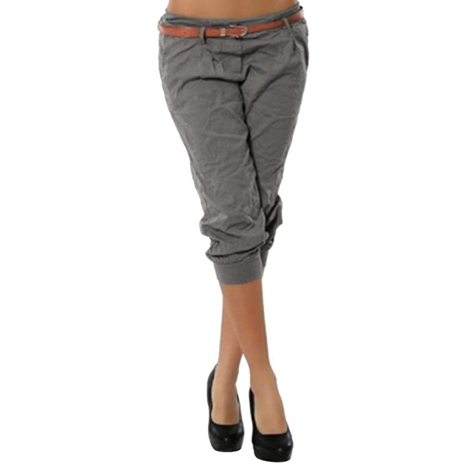 Chino Pants Vovotrade Damen Hose Kurze Shorts Bermuda OZuikTwPX