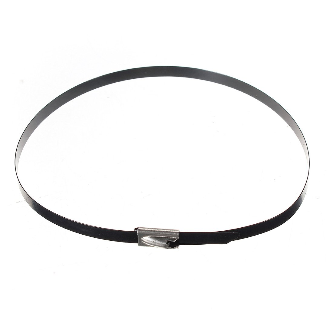 100 Edelstahl Kabelbinder Metallkabelbinder Kabel Binder 300mm X 4,6mm Kabelband