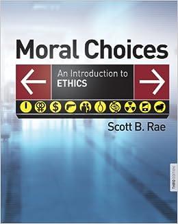 MORAL CHOICES: Amazon co uk: SCOTT B  RAE: 9780310291091: Books