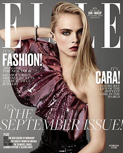 elle magazine september 2016 cara