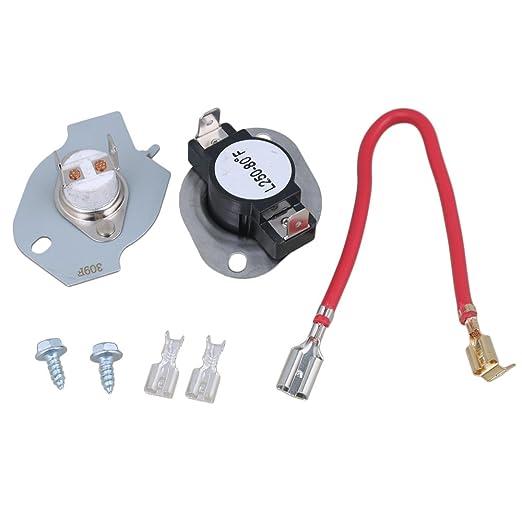 N197 Termostato y fusible del secador Pieza de repuesto para 279816 AP3094244 PS334299