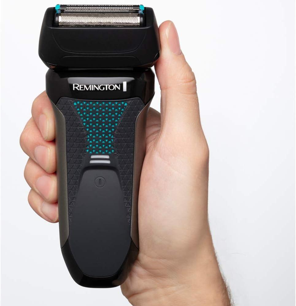 Remington F5 Style Series F5000 - Afeitadora eléctrica, recargable e inalámbrico, recortadora barba, seco y mojado, 2 accesorios, color gris: Amazon.es: Salud y cuidado personal